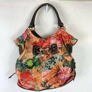 Bueno Floral Multicolor Shoulder Handbag